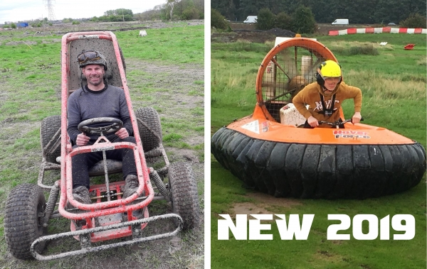 Hovercraft & Buggy Racing (Age 16+)