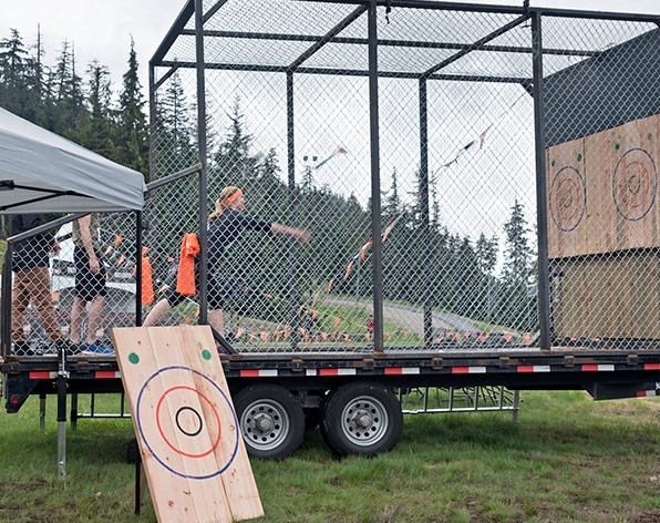 Mobile Axe throwing Experience (Age 14+)