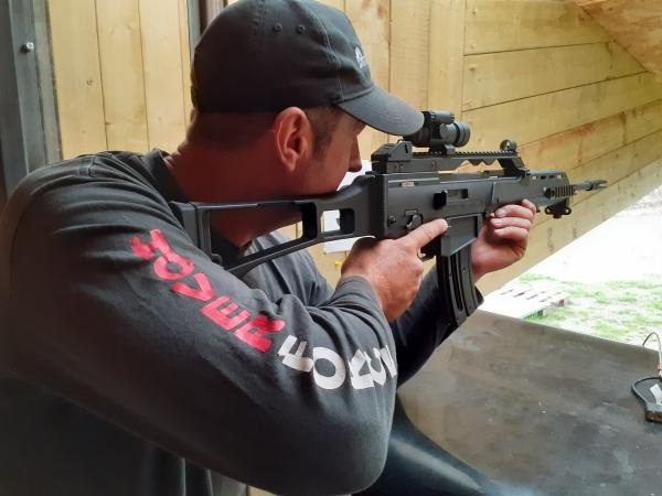 60 min Live Fire 100  - Semi Automatic Sport Rifle (Ages 12+)