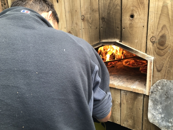 Wood Fired Pizza Experience