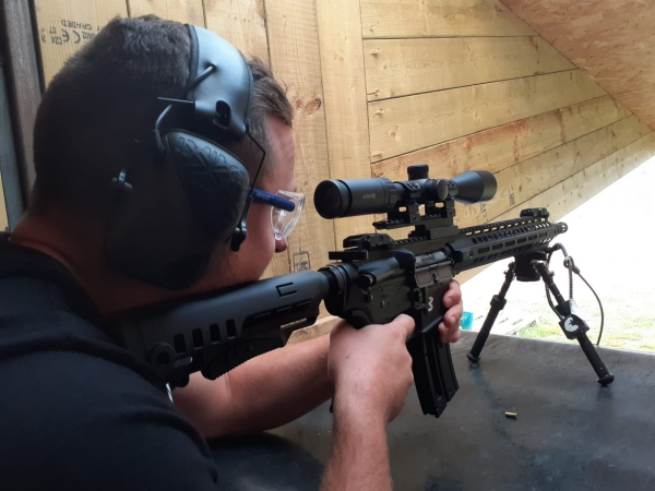 Live Fire 60 - Semi Automatic Sport Rifle (Ages 12+)