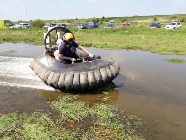 Silver Hovercraft Racing Trials (Ages 14+)