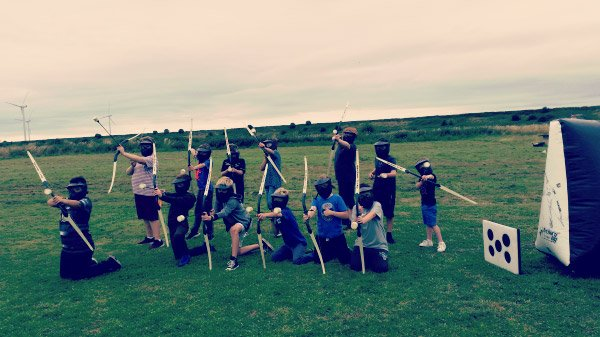 Kids Archery Combat Party (ages 10+)