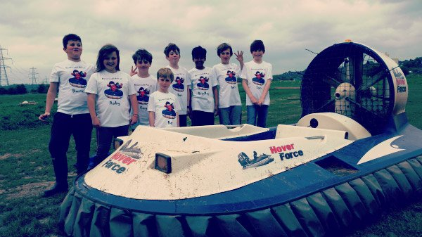 Kids Hovercraft Safari Party (ages 5-10)