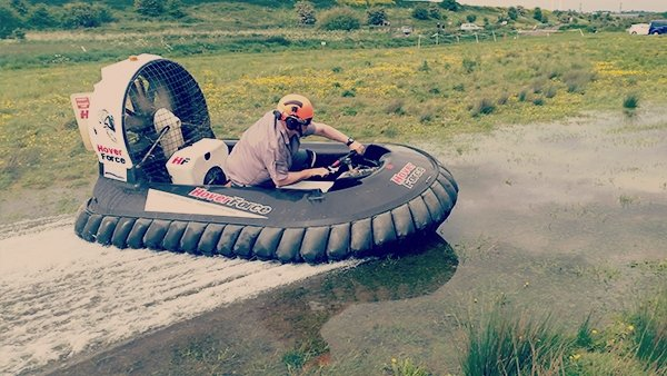 Gold Ultimate Hovercraft Racing (Ages 14+)