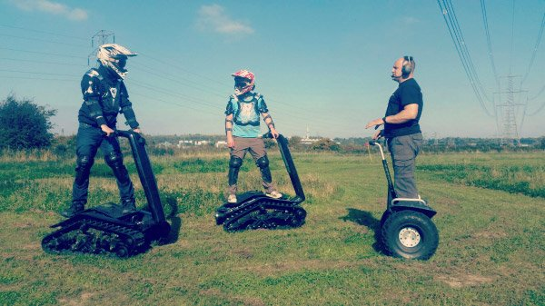 DTV Shredder & Segways (Ages 13+)