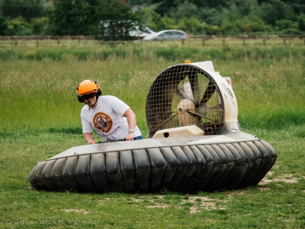 Bronze Hovercraft Experience (Age 14+)